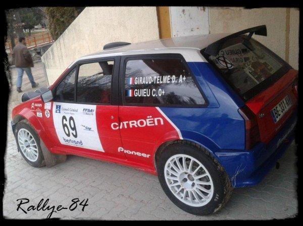 Rallye hivernal des Hautes-Alpes 2012 - Giraud/Ax Maxi