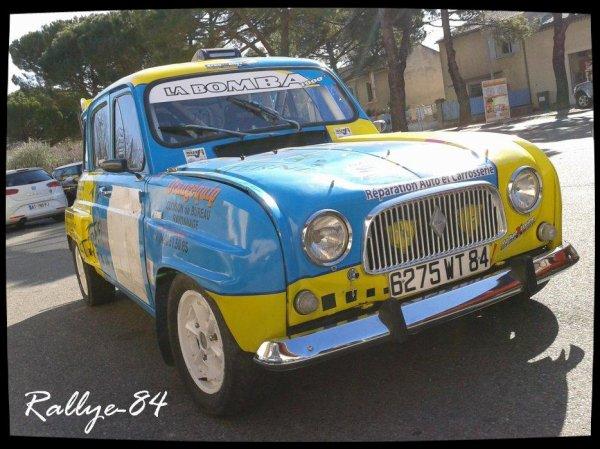 Rallye de Vaison 2012 - Sanchez/Renault 4L