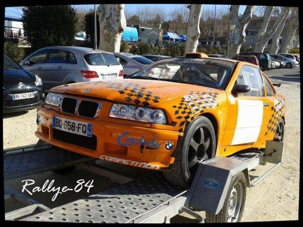 Rallye de Vaison 2012 - Flores/Bmw 318 Compact