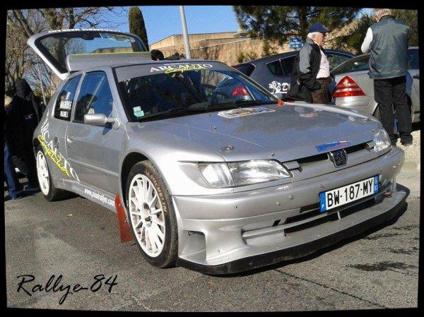 Rallye de Vaison 2012 - Magnou/Peugeot 306 Maxi