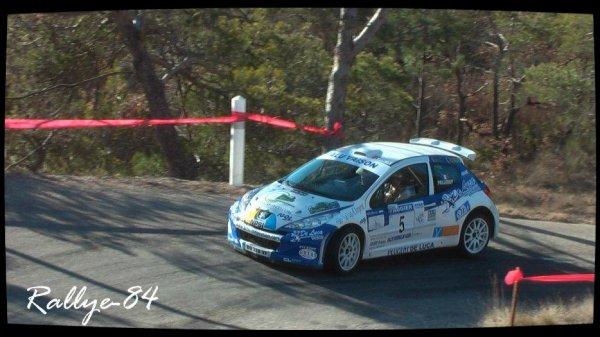 Rallye de Vaison 2012 - Pellery/Peugeot 207 S2000
