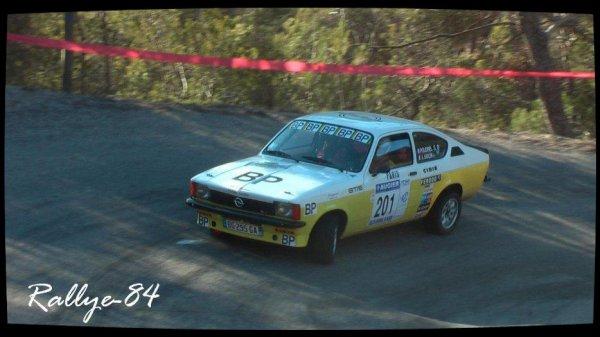 Rallye de Vaison 2012 - Poudrel/Opel Kadett