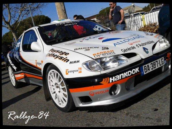 Rallye de Vaison 2012 - Podium