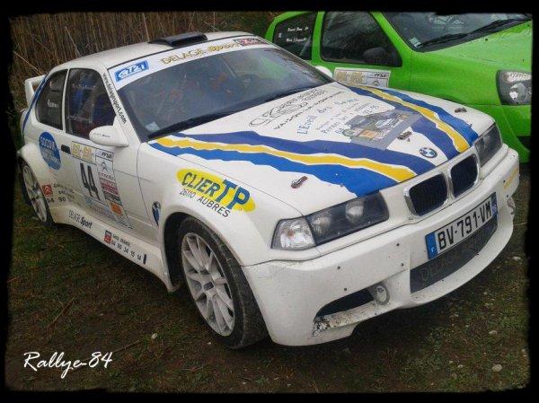 Rallye des vins du Gard 2012 - Clier/BMW 318 Compact