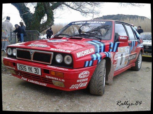 Rallye des vins du Gard 2012 - Lancia Delta
