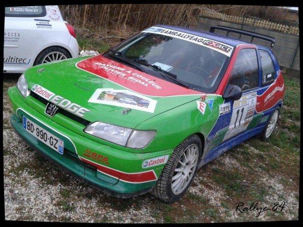 Rallye des vins du Gard 2012 - Ganguet/Peugeot 306