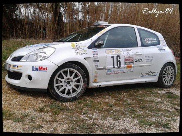 Rallye des vins du Gard 2012 - Salinas/Renault Clio R3