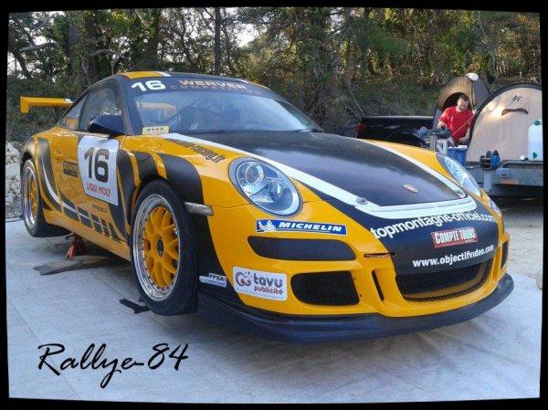 Course de côte de Bagnols-Sabran 2012 - Werver/Porsche 997 GT3 cup