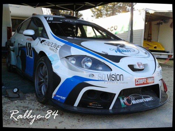 Course de côte de Bagnols-Sabran 2012 - Seat Leon Supercopa