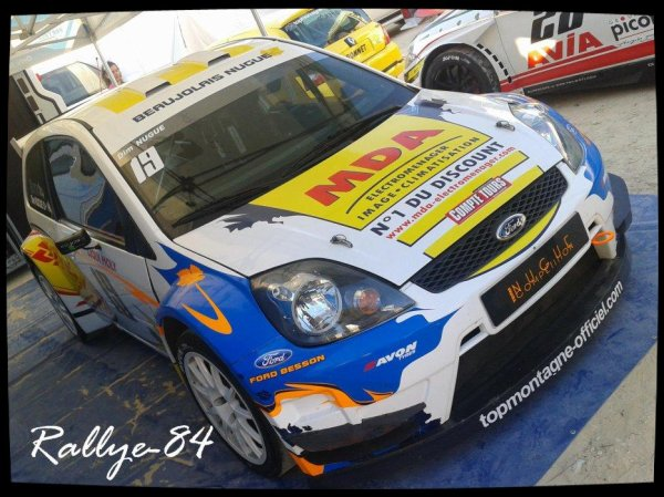 Course de côte de Bagnols-Sabran 2012 - Nugue/Ford Fiesta
