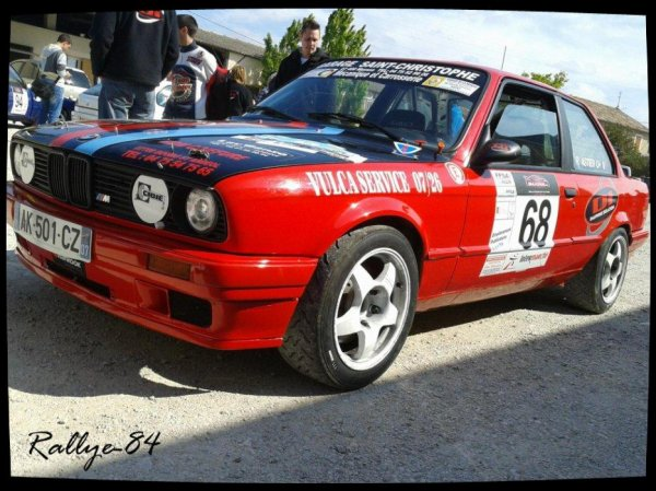 Rallye de Venasque 2012 - Astier/BMW 325