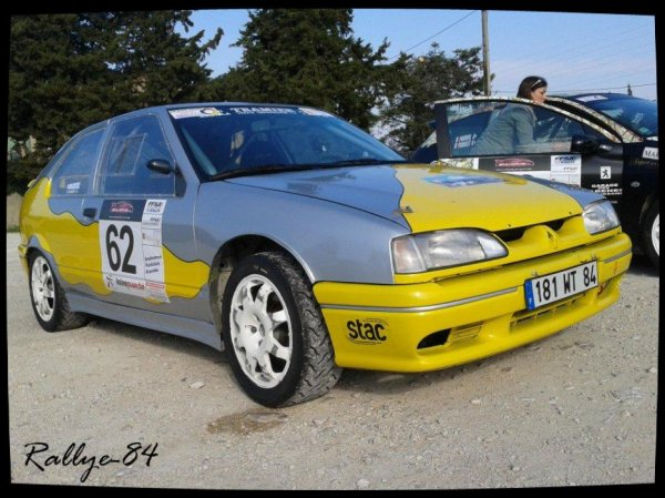 Rallye de Venasque 2012 - Tramier/Renault 19