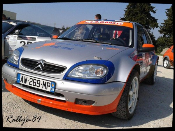 Rallye de Venasque 2012 - Saxo Kit-Car