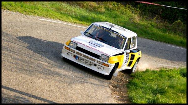 Rallye de Venasque 2012 - Hoffman/Renault 5 Turbo