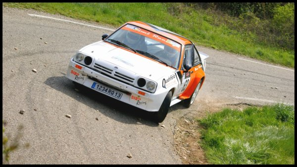Rallye de Venasque 2012 - Hugues/Opel Manta