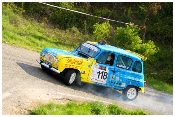 Rallye de Venasque 2012 - Sanchez/Renault 4L