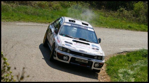 Rallye de Venasque 2012 - Stéphane Chambon/Subaru Impreza