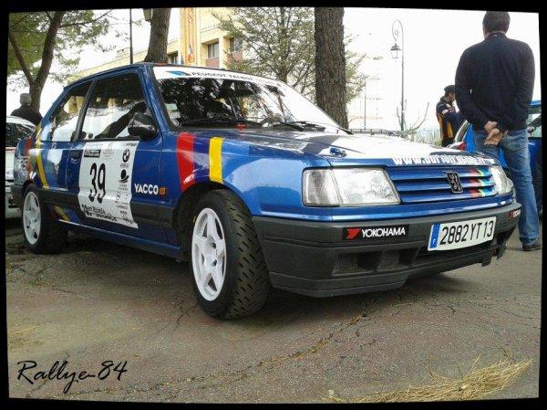 Ronde de la Durance 2012 - Peugeot 309