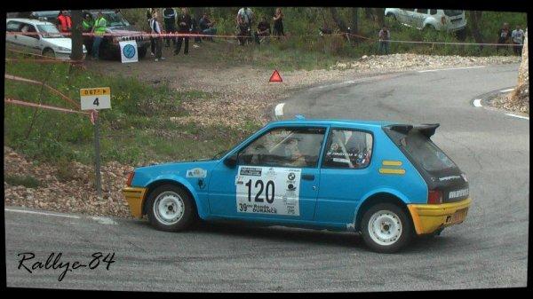 Ronde de la Durance 2012 - Forestello/Peugeot 205