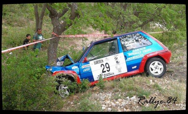 Ronde de la Durance 2012 - Vallier/Gt Turbo (Crash)