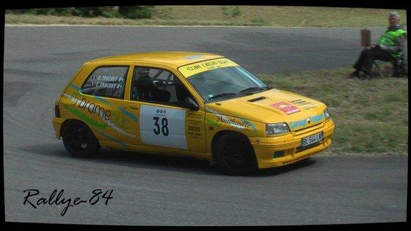 C/c de Crest-Divajeu 2012 - Truchet/Renault Clio