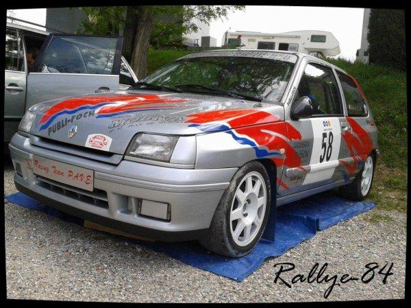 C/c de Crest-Divajeu 2012 - Audouy/Renault Clio Williams