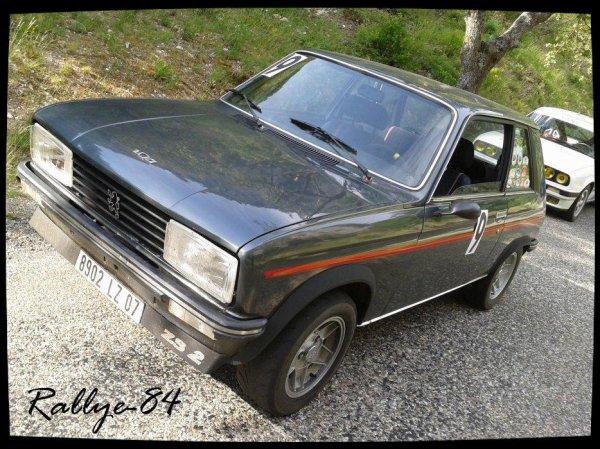 Montée historique de Murs 2012 - Peugeot 104