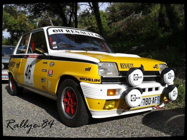 Montée historique de Murs 2012 -  Renault 5 Alpine