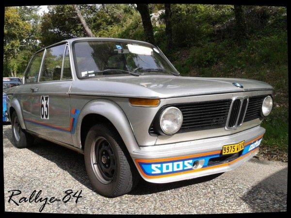 Montée historique de Murs 2012 -  BMW 2oo2 & M3
