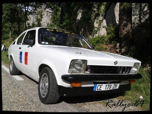 Montée historique de Murs 2012 -  Opel Kadett Gte