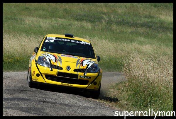 Rallye de l'Écureuil 2012 - Fraisse/Renault Clio R3