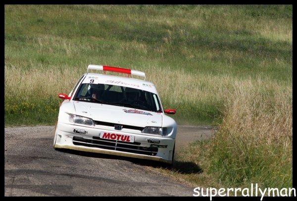 Rallye de l'Écureuil 2012 - Bourg/Peugeot 306 Maxi