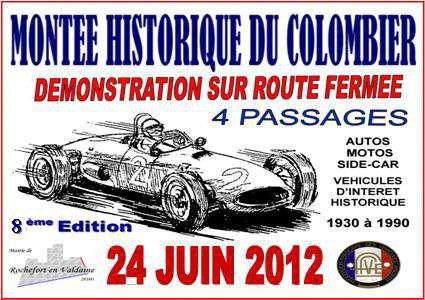 Montée historique du Colombier 2012