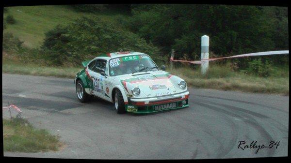 Rallye de la Drôme 2012 - Cazaux/Porsche 911 Sc