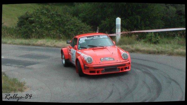 Rallye de la Drôme 2012 - Pauget/Porsche 930 Turbo