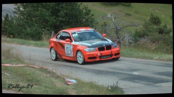 Rallye de la Drôme 2012 - Ayme/BMW 135I