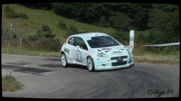 Rallye de la Drôme 2012 - Gassend/Fiat Punto S2000