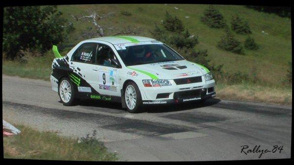 Rallye de la Drôme 2012 - Arnaud/Mitsubishi Lancer Evo7