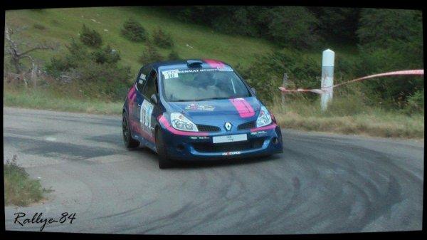 Rallye de la Drôme 2012 - Barneaud/Renault Clio R3