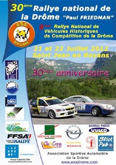 Rallye de la Drôme 2012