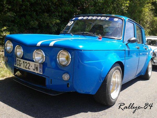 Montée historique de Vinsobres - Renault 8 Gordini