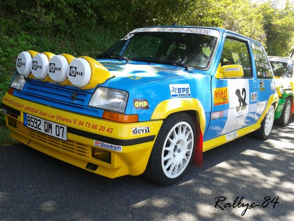 mont e historique de vinsobres renault 5 gt 1oo rallye. Black Bedroom Furniture Sets. Home Design Ideas