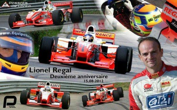 Lionel Regal: Deux ans déjá :(
