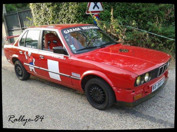 Course de côte de Propiac 2012 - BMW 320I