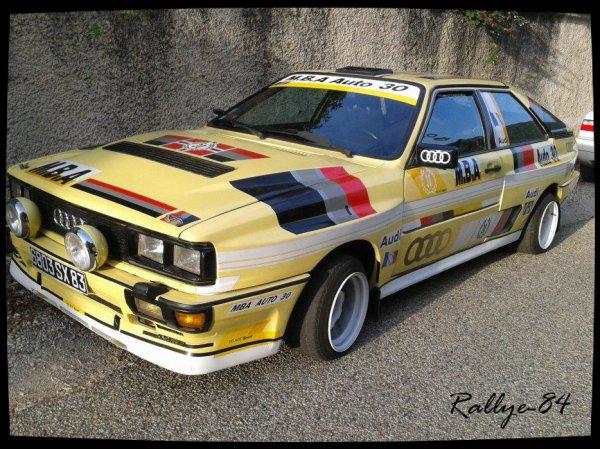 Course de côte de Propiac 2012 - Audi coupe Gt