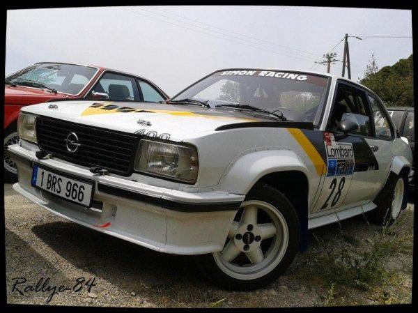 Course de côte de Propiac 2012 - Opel Ascona
