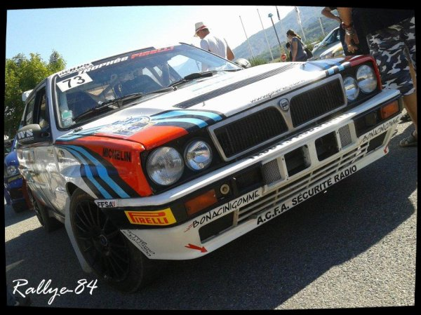 Rallye du Gap-Racing 2012 - Michel/Lancia Delta