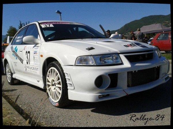 Rallye du Gap-Racing 2012 - Ressegaire/Mitsubishi Lancer Evo 6