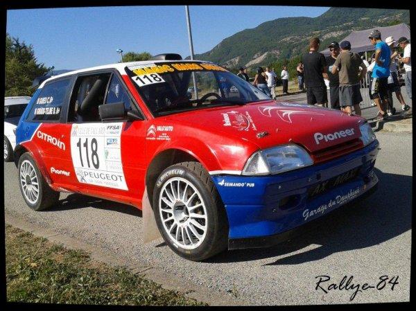 Rallye du Gap-Racing 2012 - Citroën Ax Sport