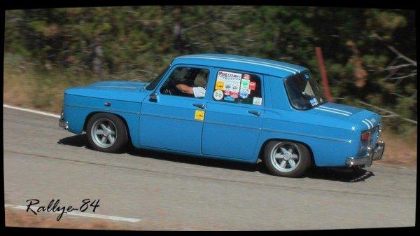 Montée de Reilhanette 2012 - Folcher/Renault 8 Gordini